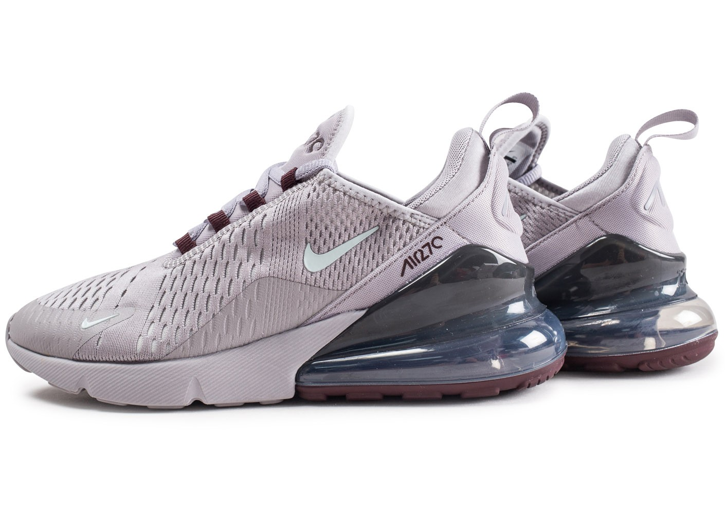 photos officielles 8b2a6 45957 Nike Air Max 270 grise - Chaussures Baskets homme - Chausport