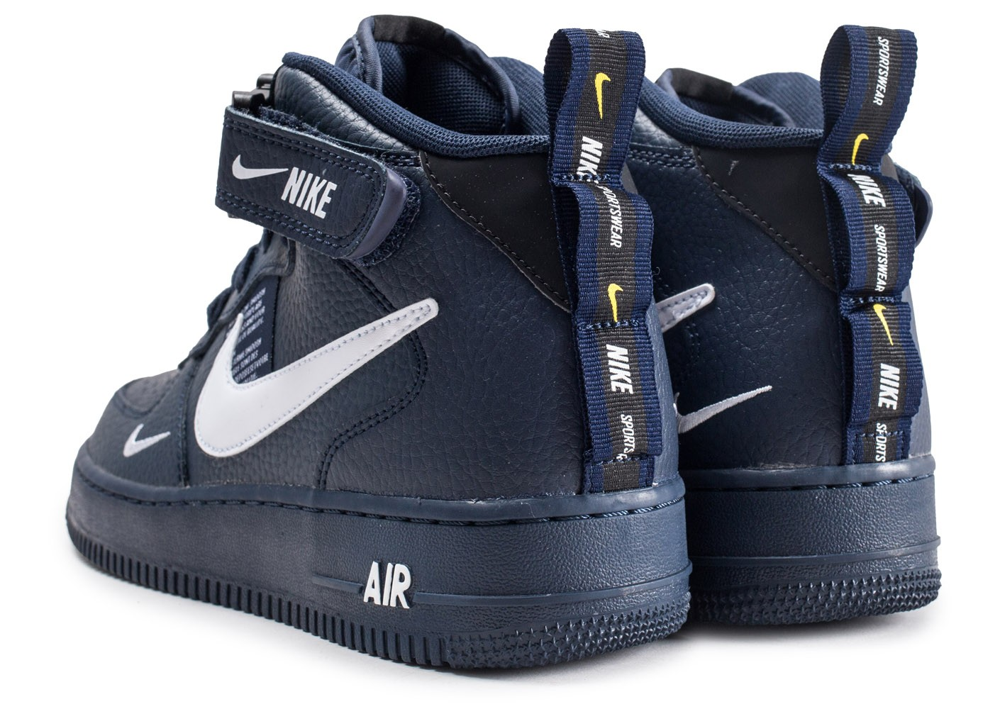 nike air force 1 mid 07 bleu