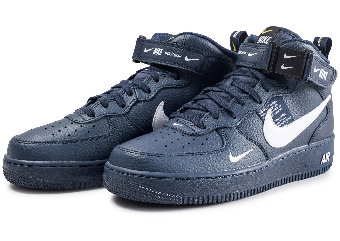 air force 1 blanc marine homme