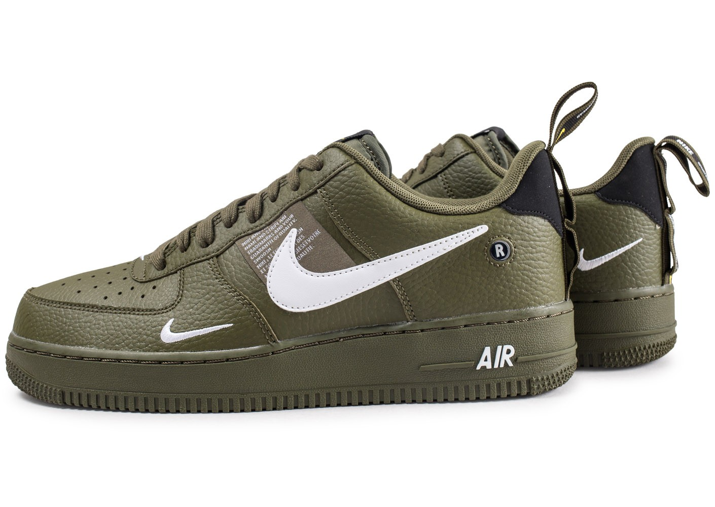 Nike Air Force 1 '07 LV8 Utility kaki - Chaussures Baskets ...