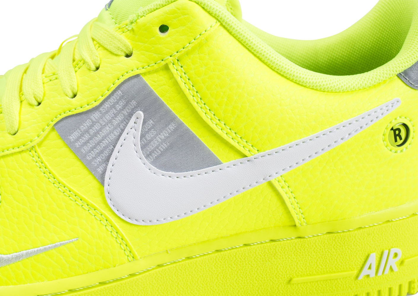 nike air force 1 utility jaune