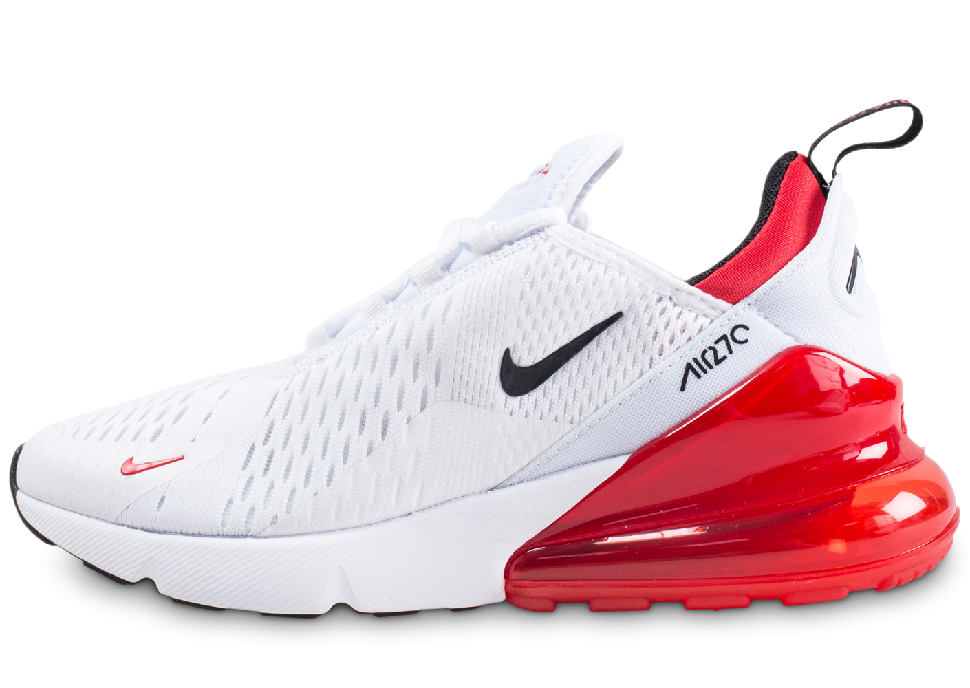 air max blanche rouge
