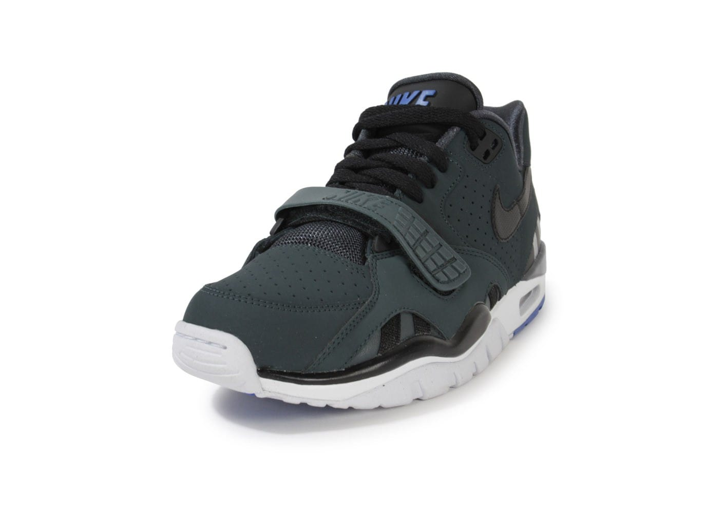low priced 5318b 520aa ... Chaussures Nike Air Trainer Sc Ii Low Noire vue avant ...