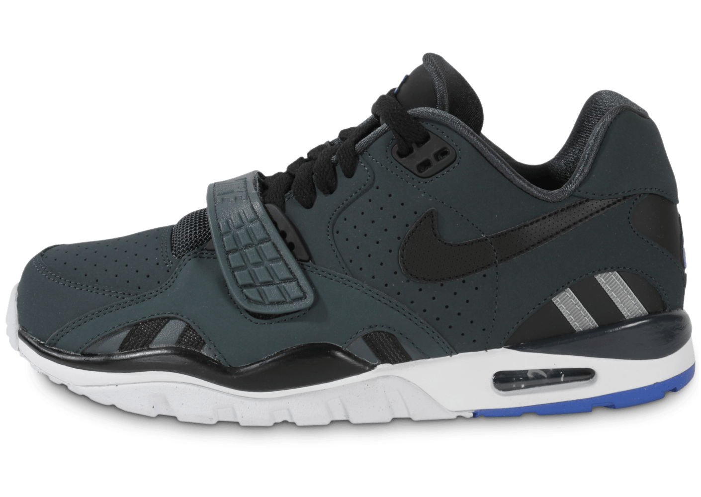 sports shoes 271c7 93ed3 Nike Air Trainer Sc Ii Low Noire - Chaussures Baskets homme - Chausport