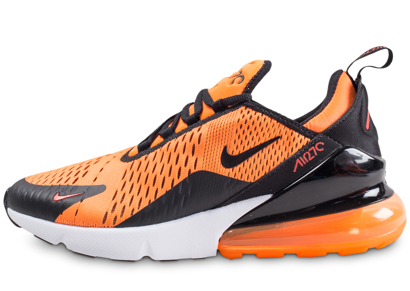 chaussure nike orange air max