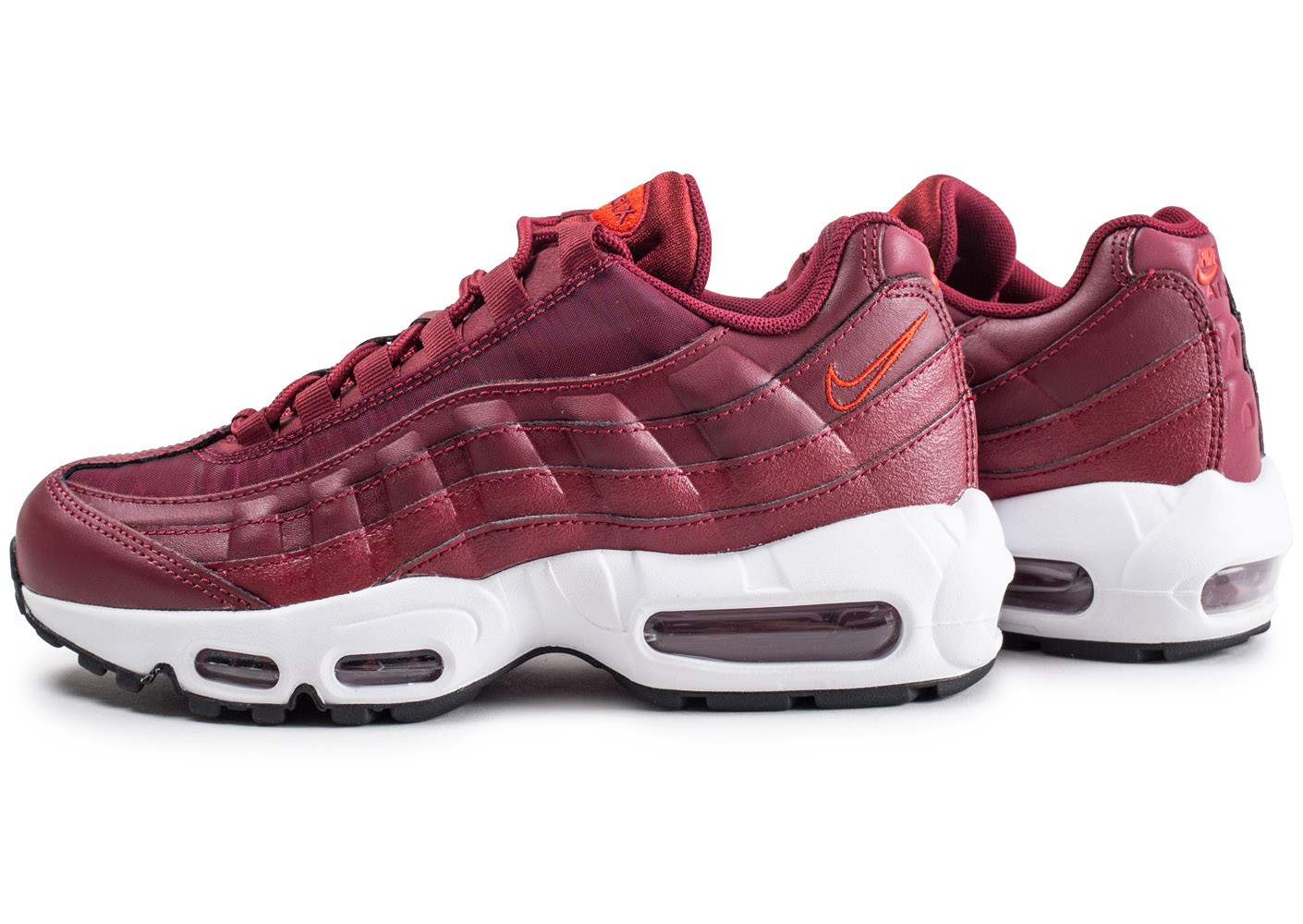 Nike Air Max 95 Habanero femme - Chaussures Baskets femme ...