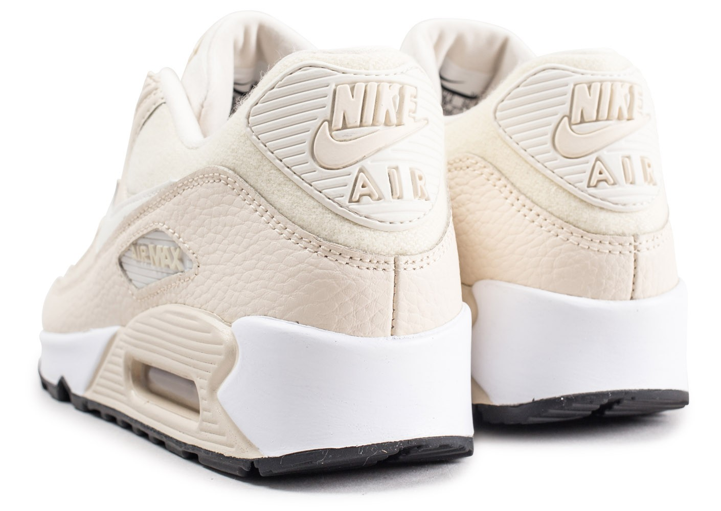 Nike Air Max 90 beige et blanche femme Chaussures Baskets