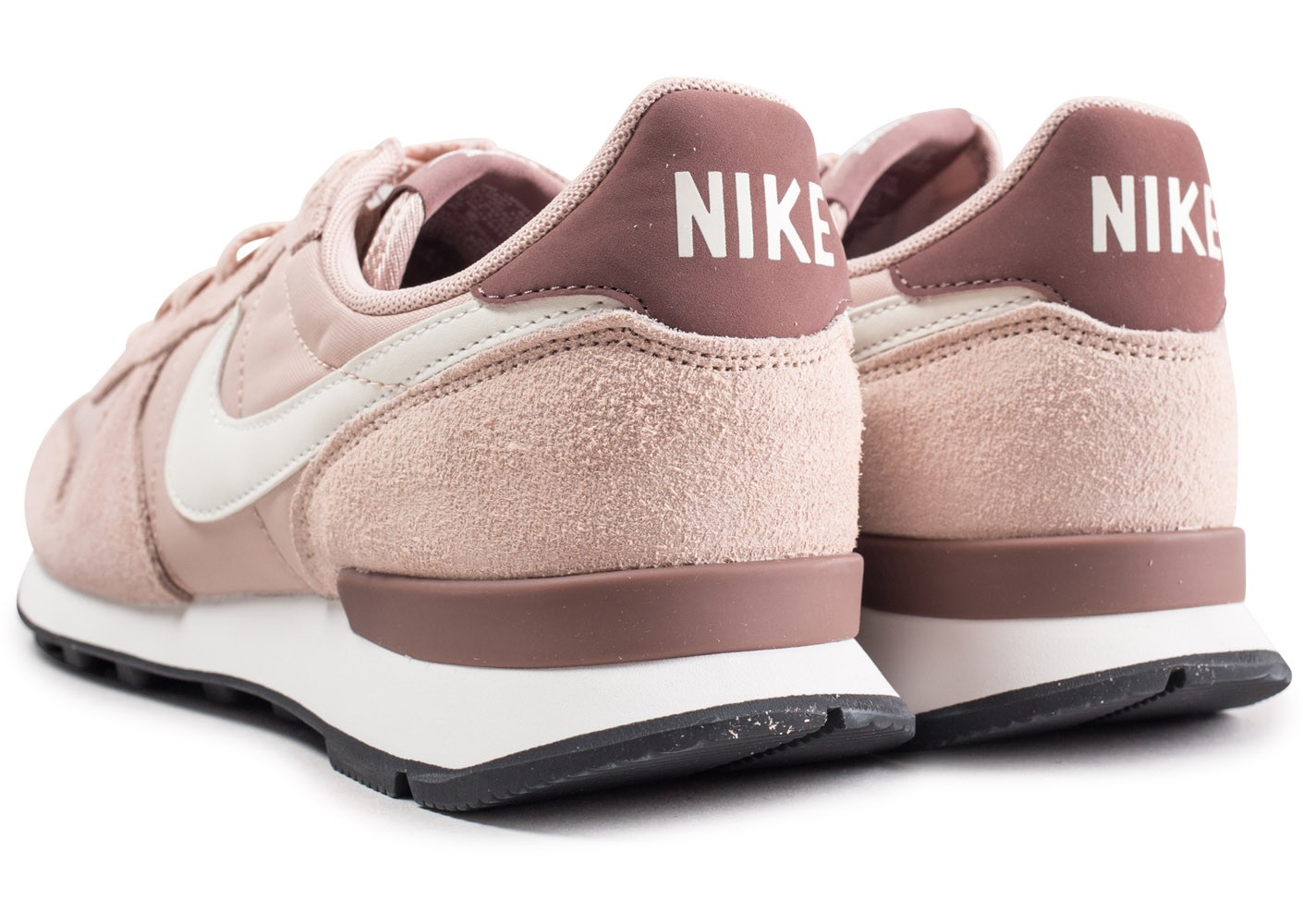 nike internationalist femme rose chausport