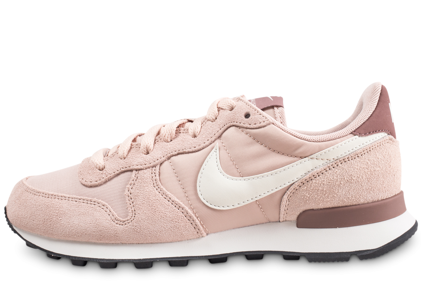 shoes for cheap on feet at amazing selection Nike Internationalist beige femme