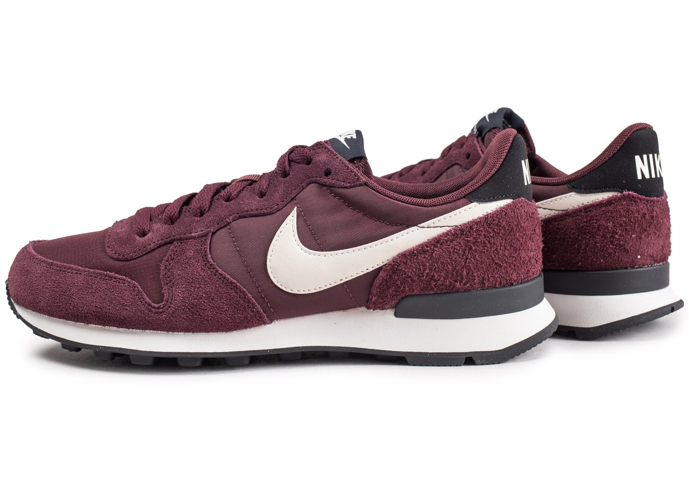 huge selection of to buy delicate colors Nike Internationalist bordeaux femme - Chaussures Baskets femme ...