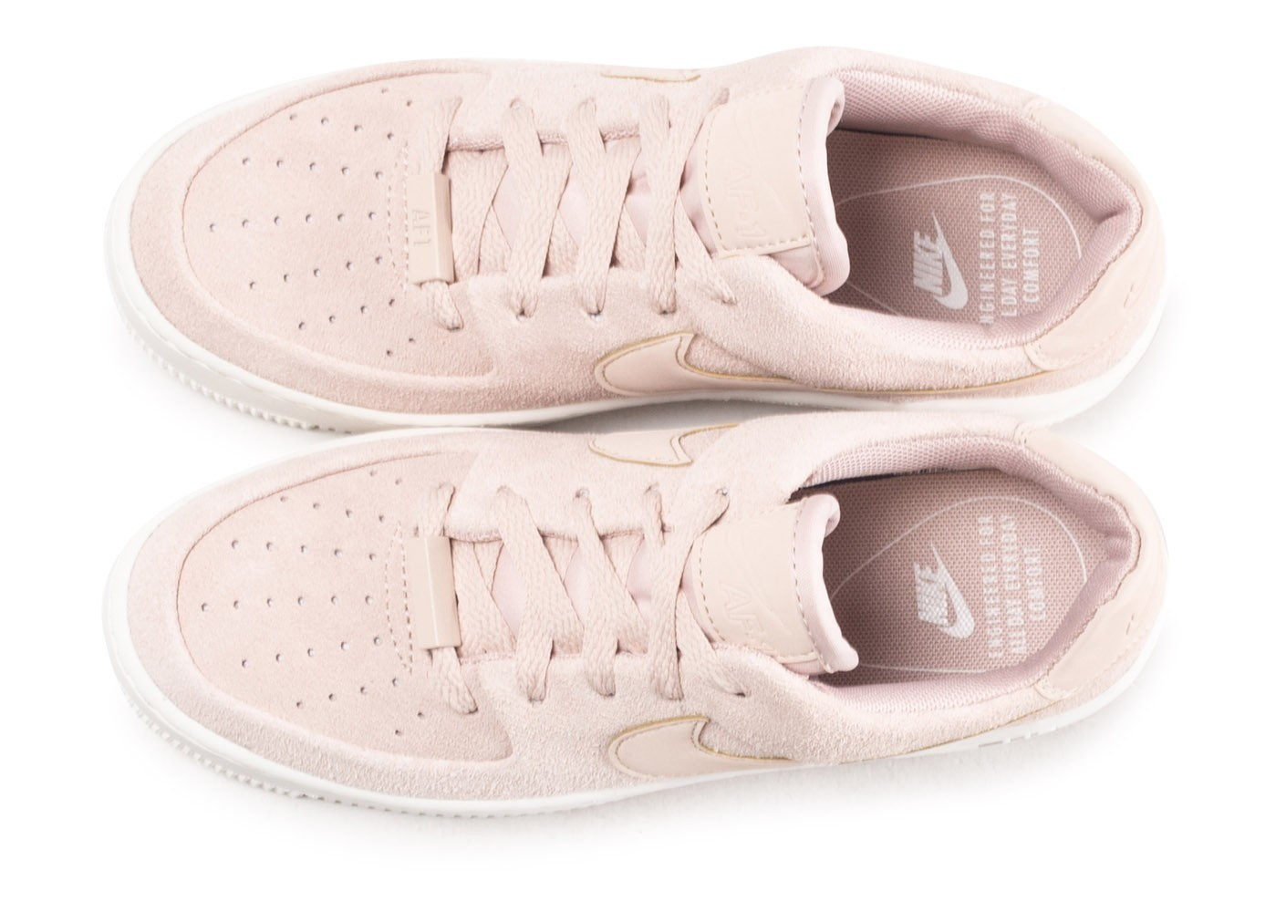 nike air force one femme rose pale