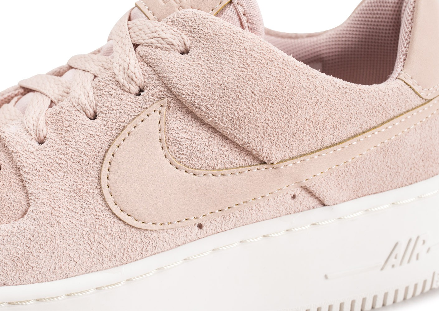 Nike Air Force 1 Sage Low rose - Chaussures Baskets femme ...
