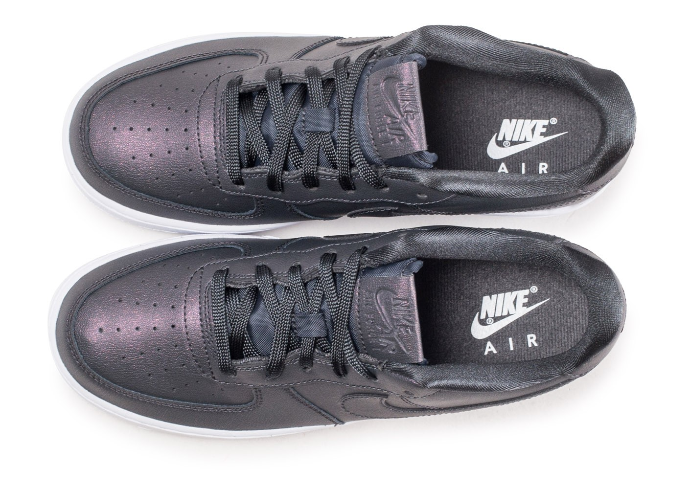 half off 1f4ba 44343 ... Chaussures Nike Air Force 1 SS anthracite junior vue arrière ...