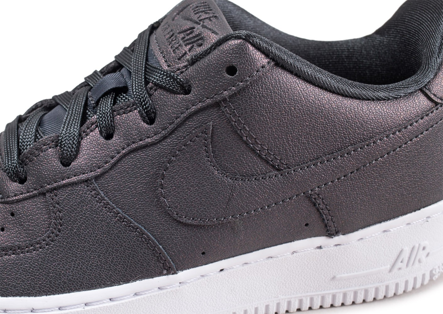 best service 5095b 82ab4 ... Chaussures Nike Air Force 1 SS anthracite junior vue dessus