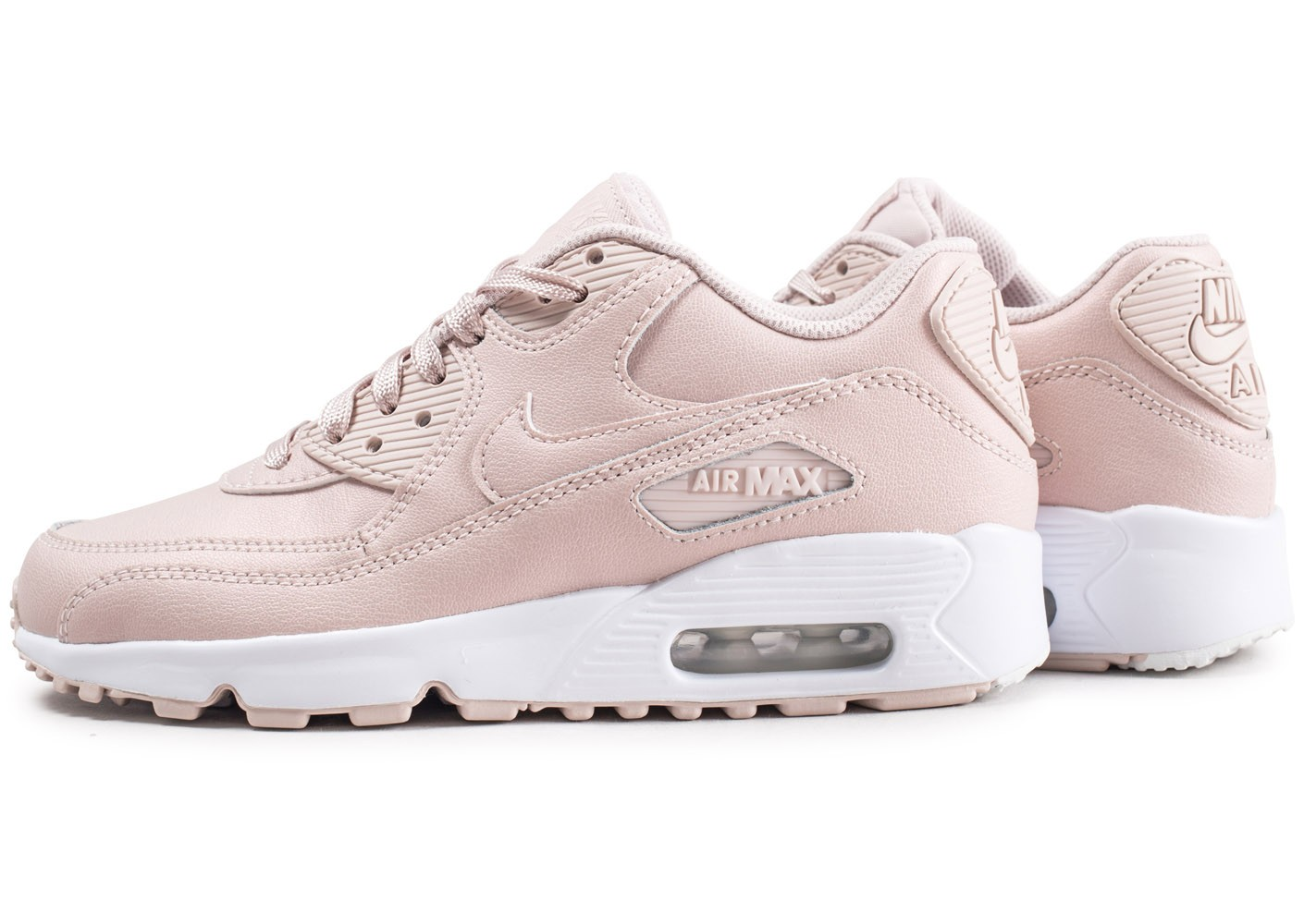 meilleures baskets b8c35 762c8 Nike Air Max 90 Leather SS rose junior - Chaussures Toutes ...