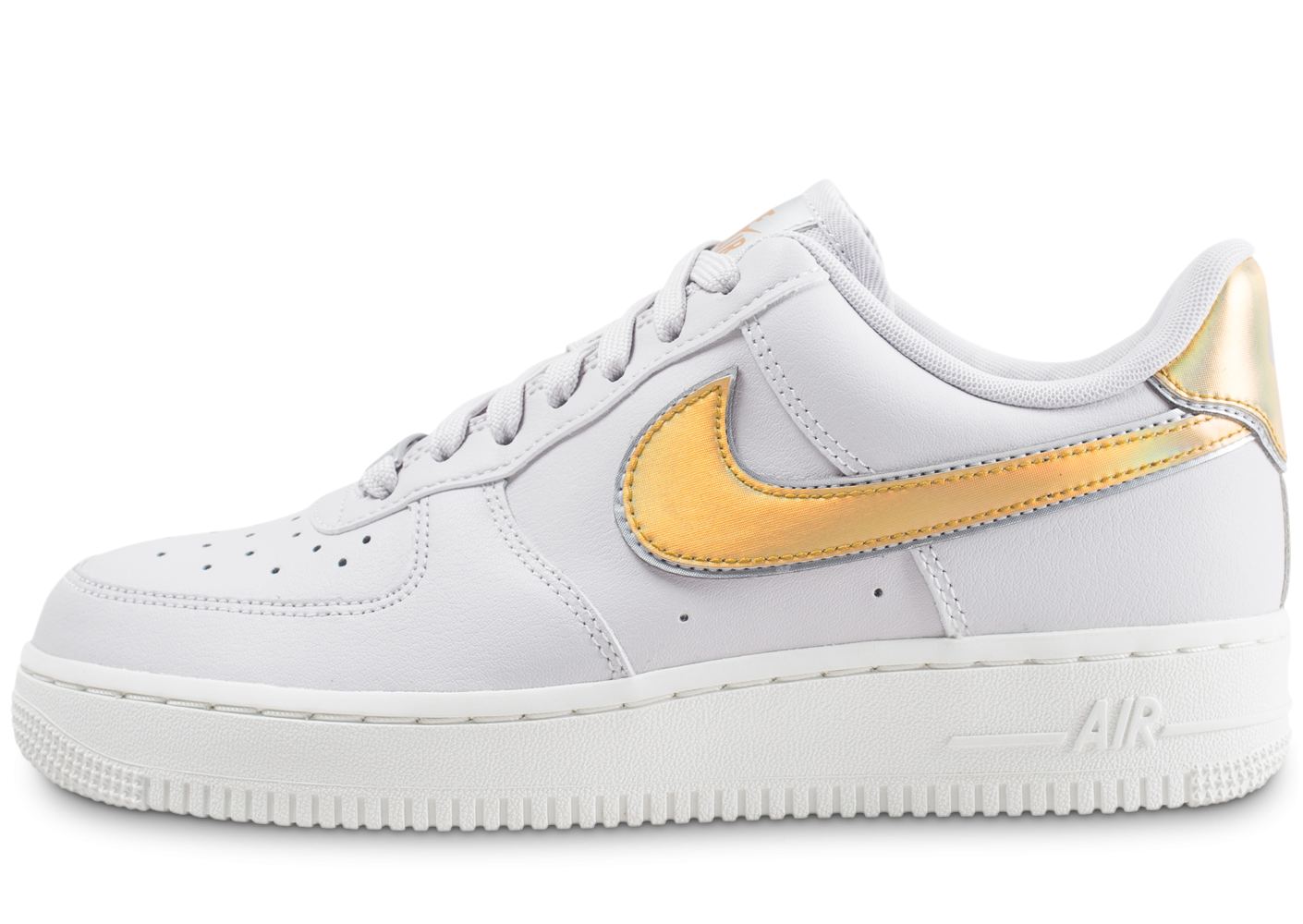 air force 1 metallic femme