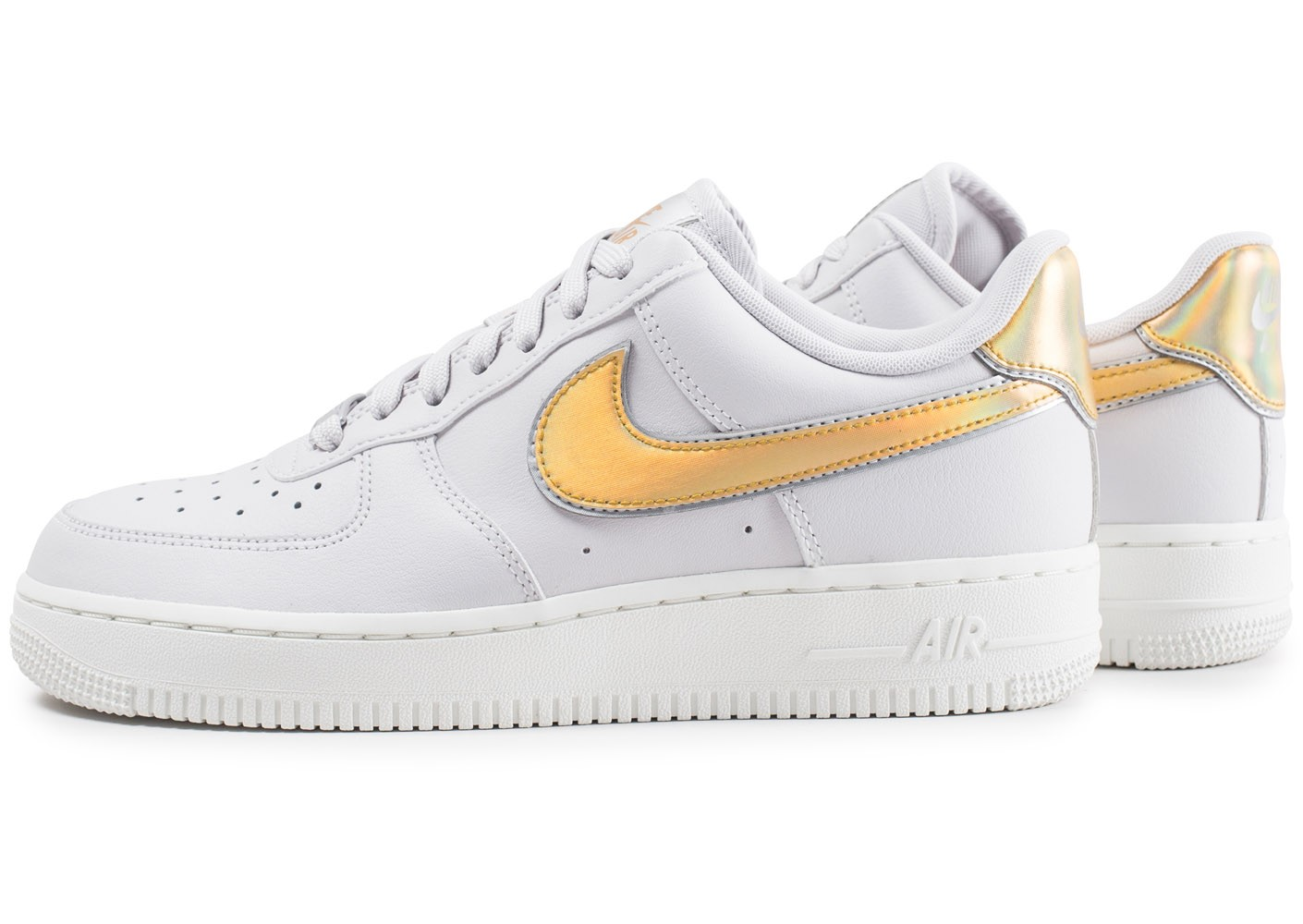 nike air force 1 metallic femme