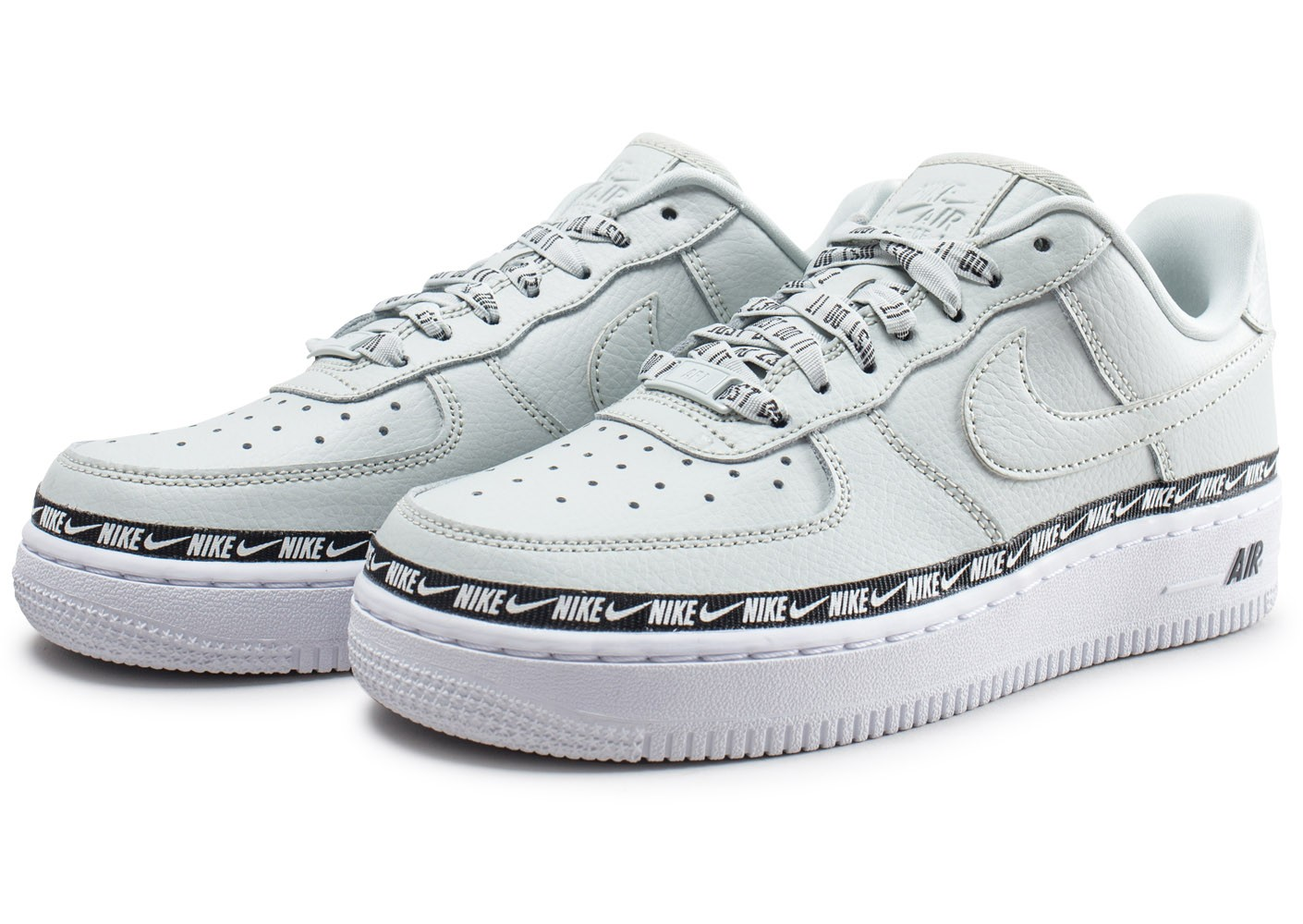 nike air force 1 femme argent