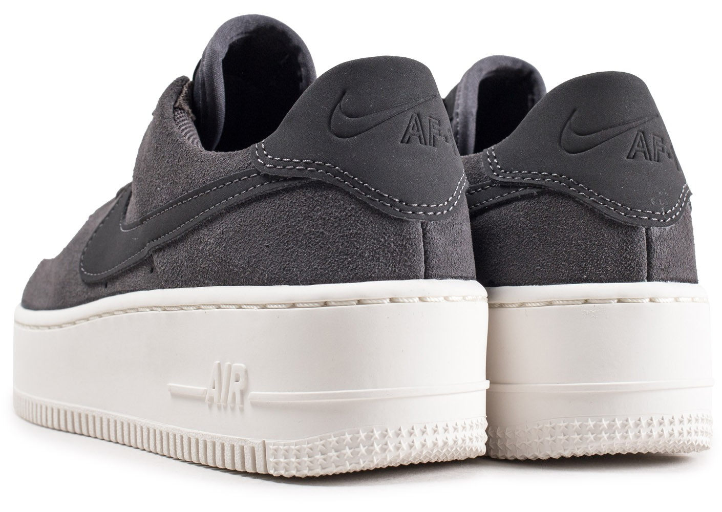Nike Air Force 1 Sage Low gris femme Chaussures Baskets