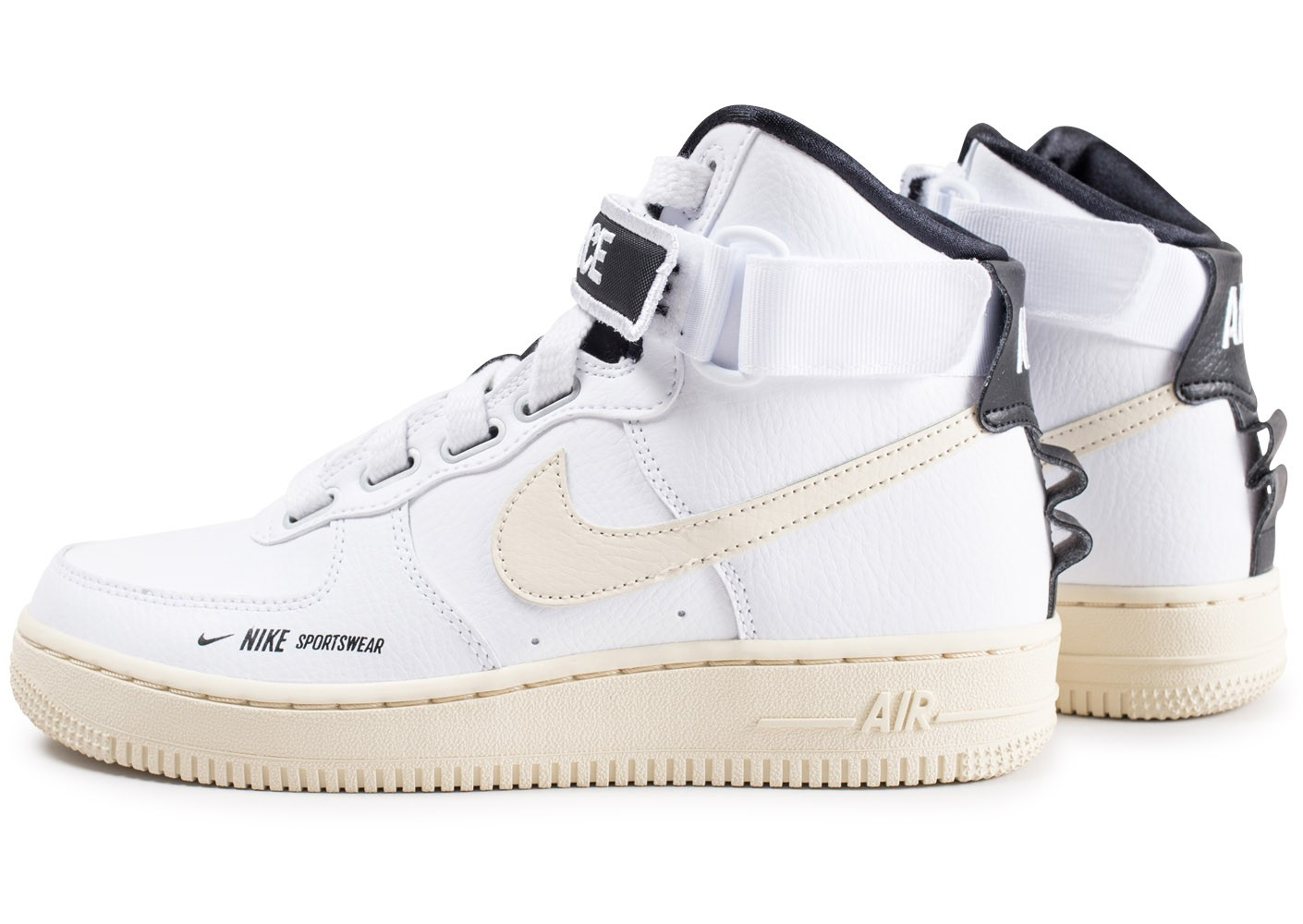 100% authentic great quality new list Nike Air Force 1 High Utilty blanche femme - Chaussures ...