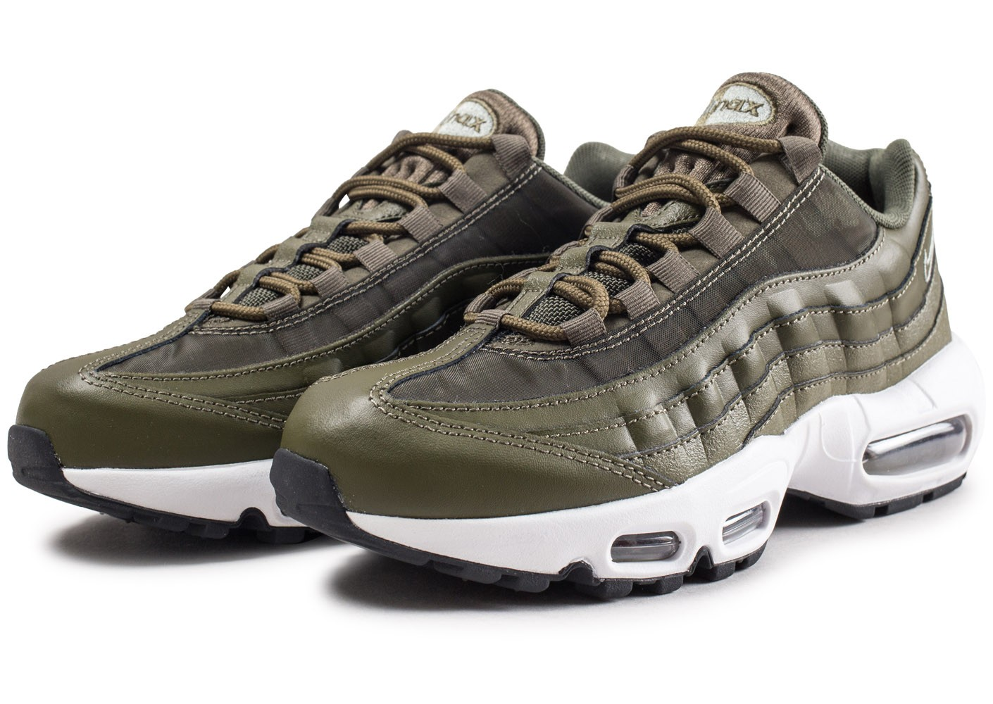 sports shoes f0a80 03670 ... Chaussures Nike Air Max 95 OG Olive femme vue intérieure ...