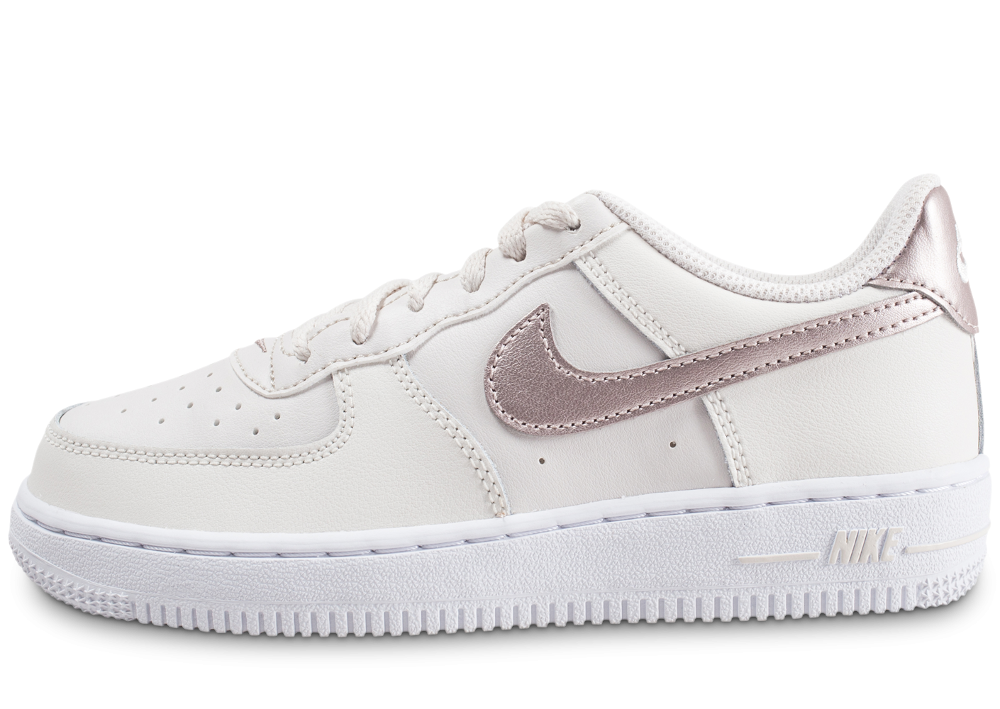 Nike Air Force 1 Low blanc or rose enfant