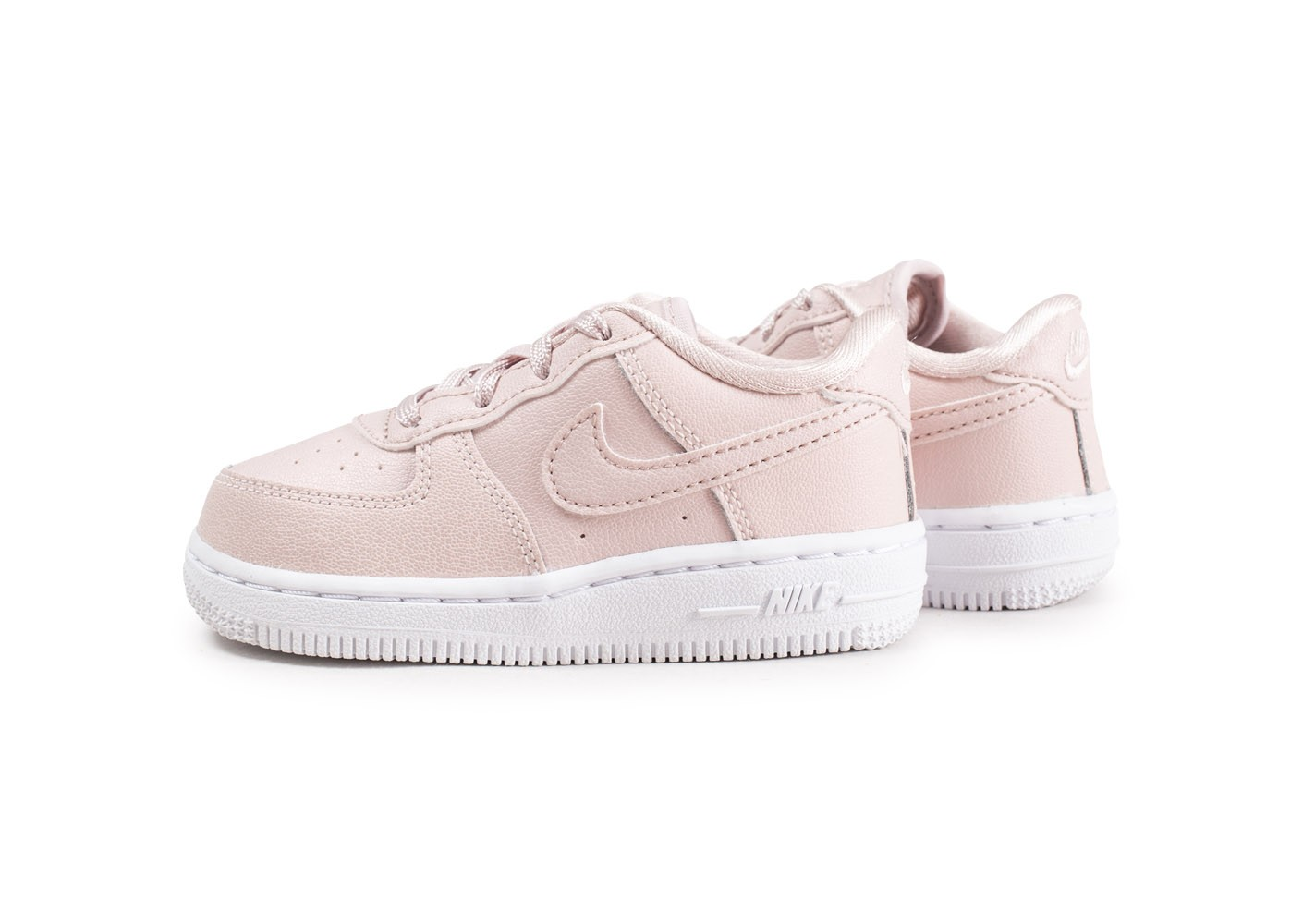 Nike Air Force 1 SS rose enfant