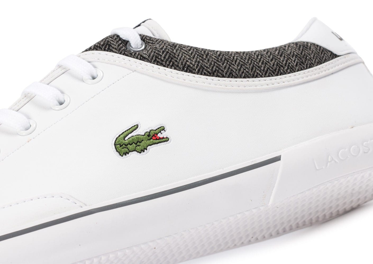 45191d04d4 Angha Lacoste Baskets Chaussures Cuir Chausport Blanche Homme YIf6mybv7g