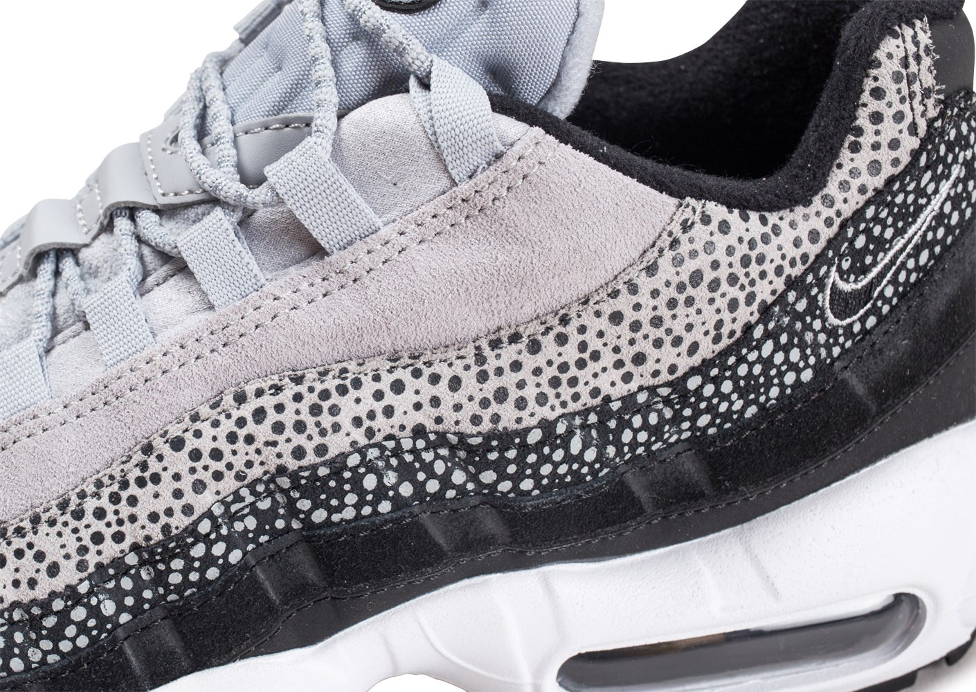 Nike Air Max 95 Premium Contrast grise femme - Chaussures ...