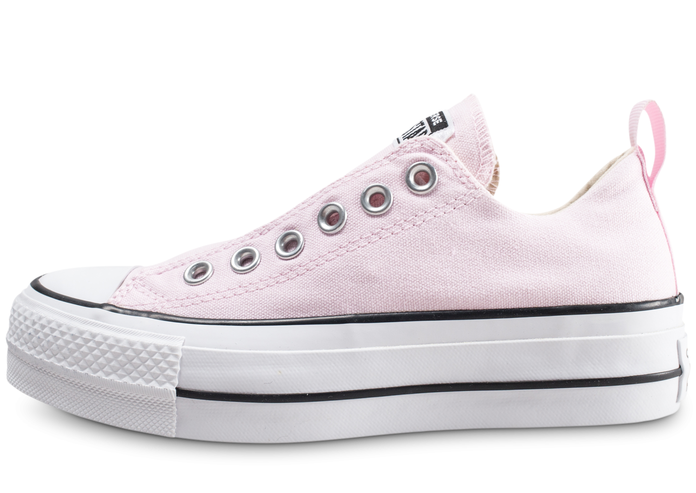 3519f97e39753 Converse Chuck Taylor All Star low Platform rose femme - Chaussures Baskets  femme - Chausport