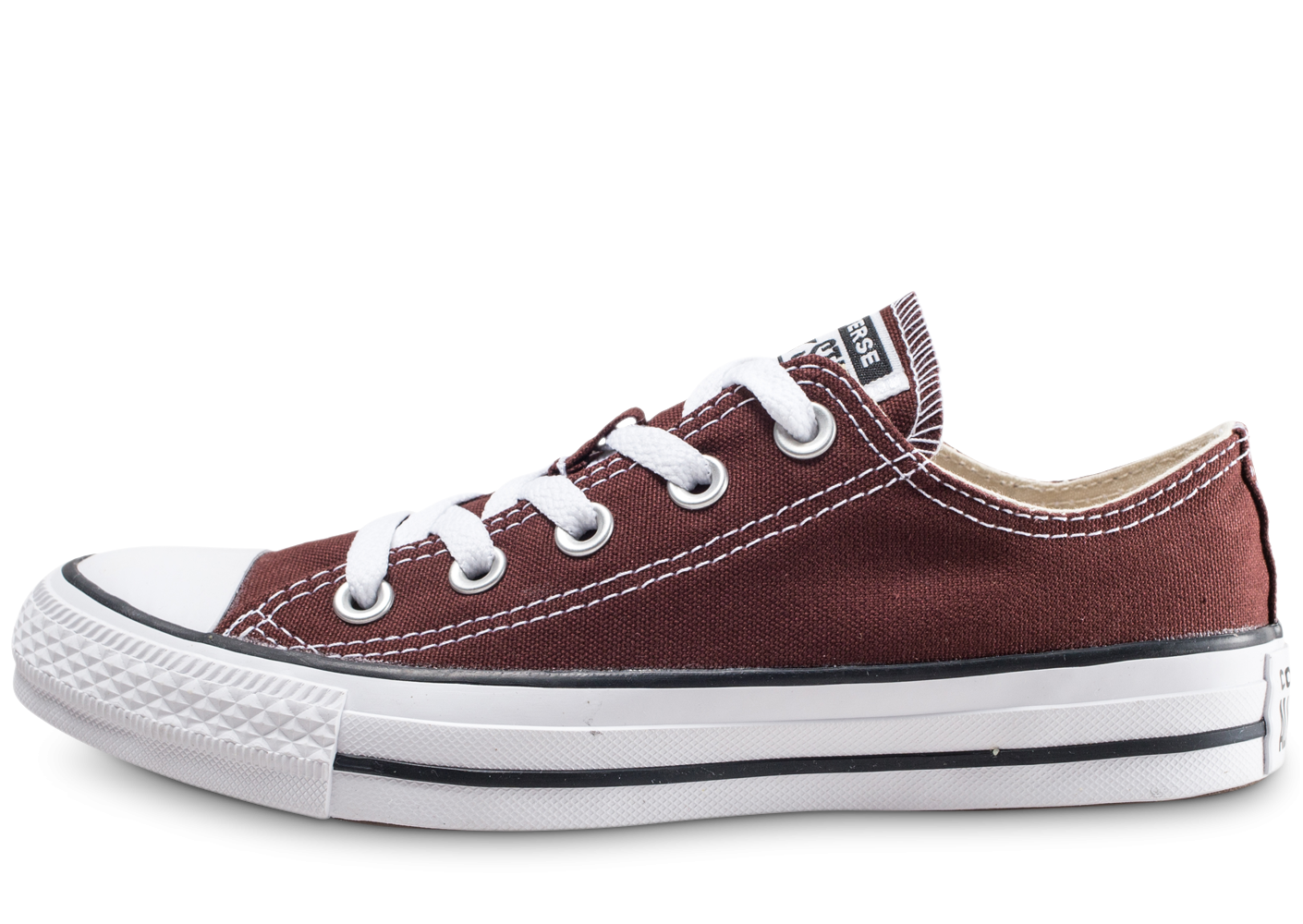 Converse Chuck Taylor All Star Low marron femme