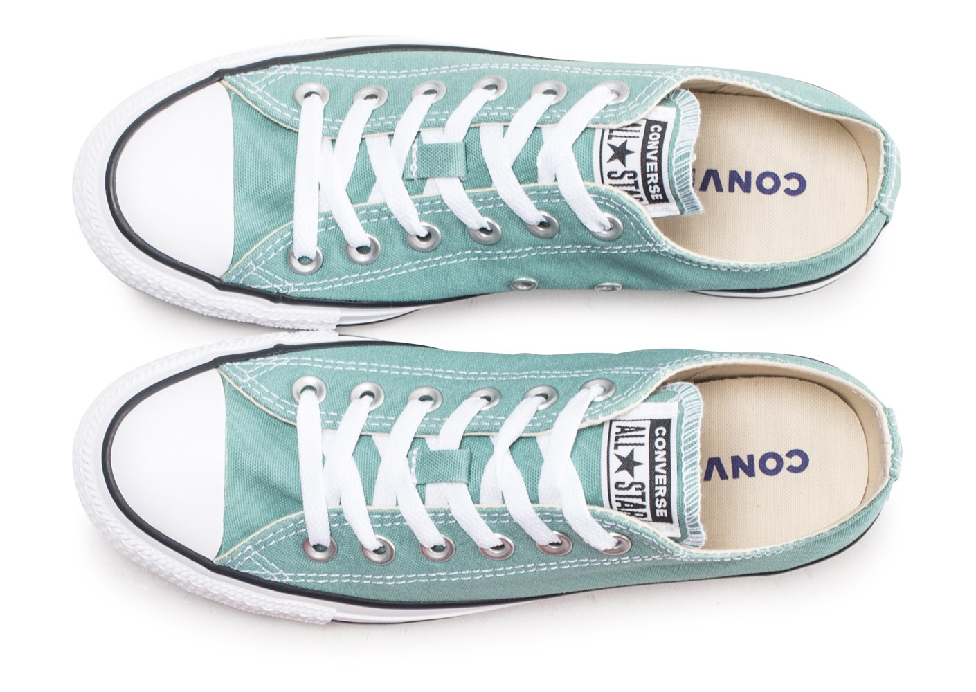 Converse Chuck Taylor All Star Low vert d'eau femme ...