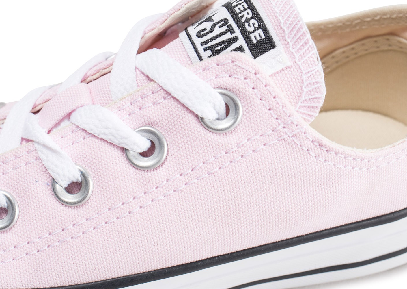 Converse Chuck Taylor All Star Low rose pâle Chaussures