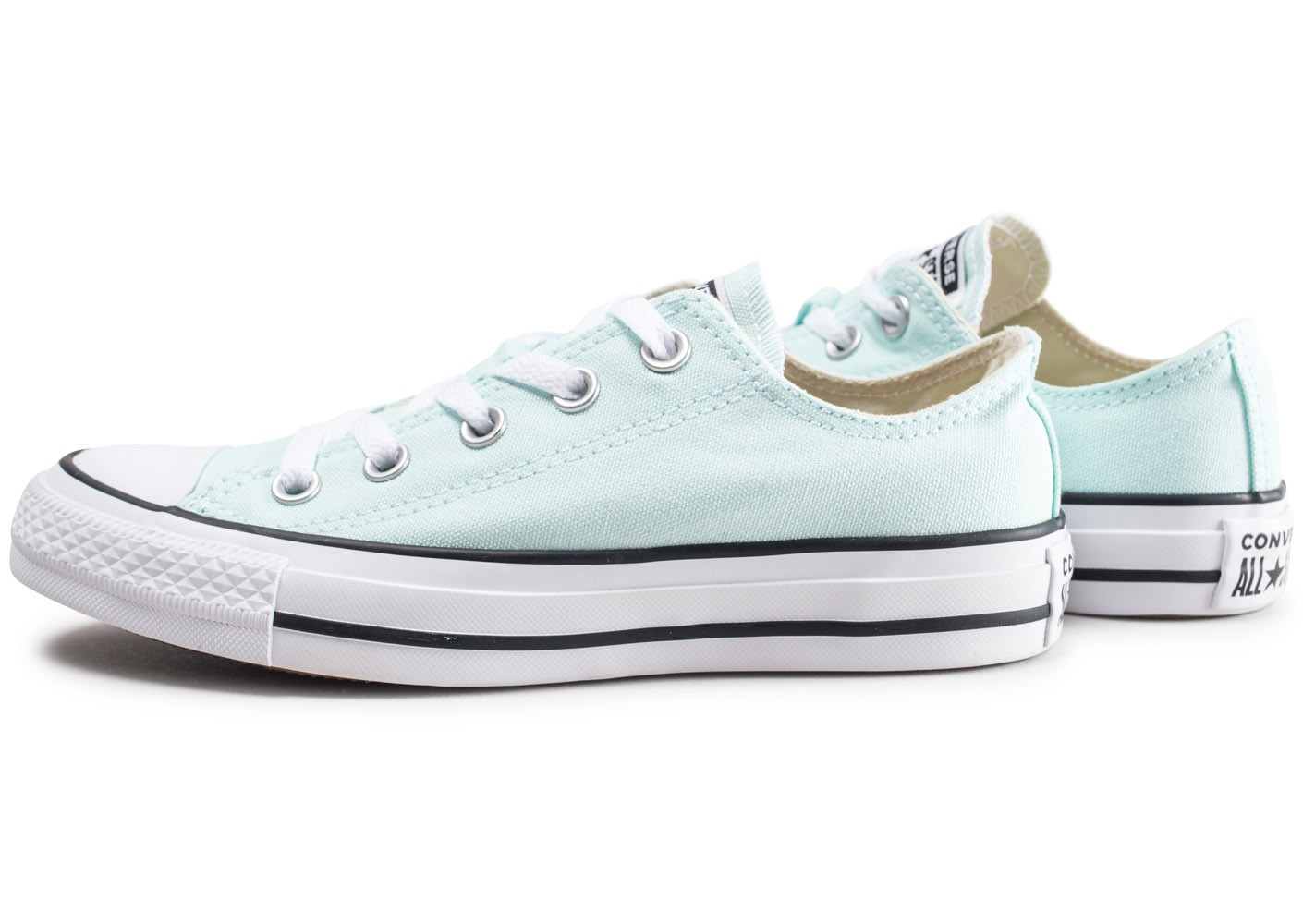 Converse Chuck Taylor All Star Low vert pastel femme ...