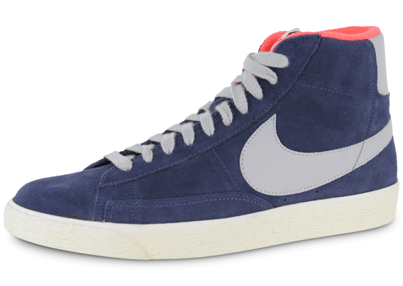 reputable site 27c13 6bd3f Nike Blazer Mid Bleu Marine - Chaussures Baskets homme - Cha