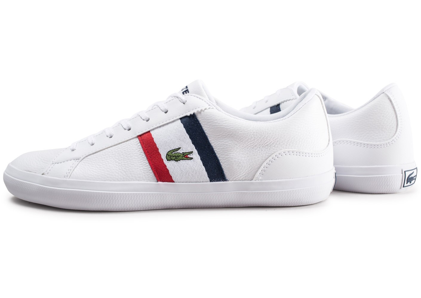 Lacoste Lerond 119 blanche Chaussures Baskets homme
