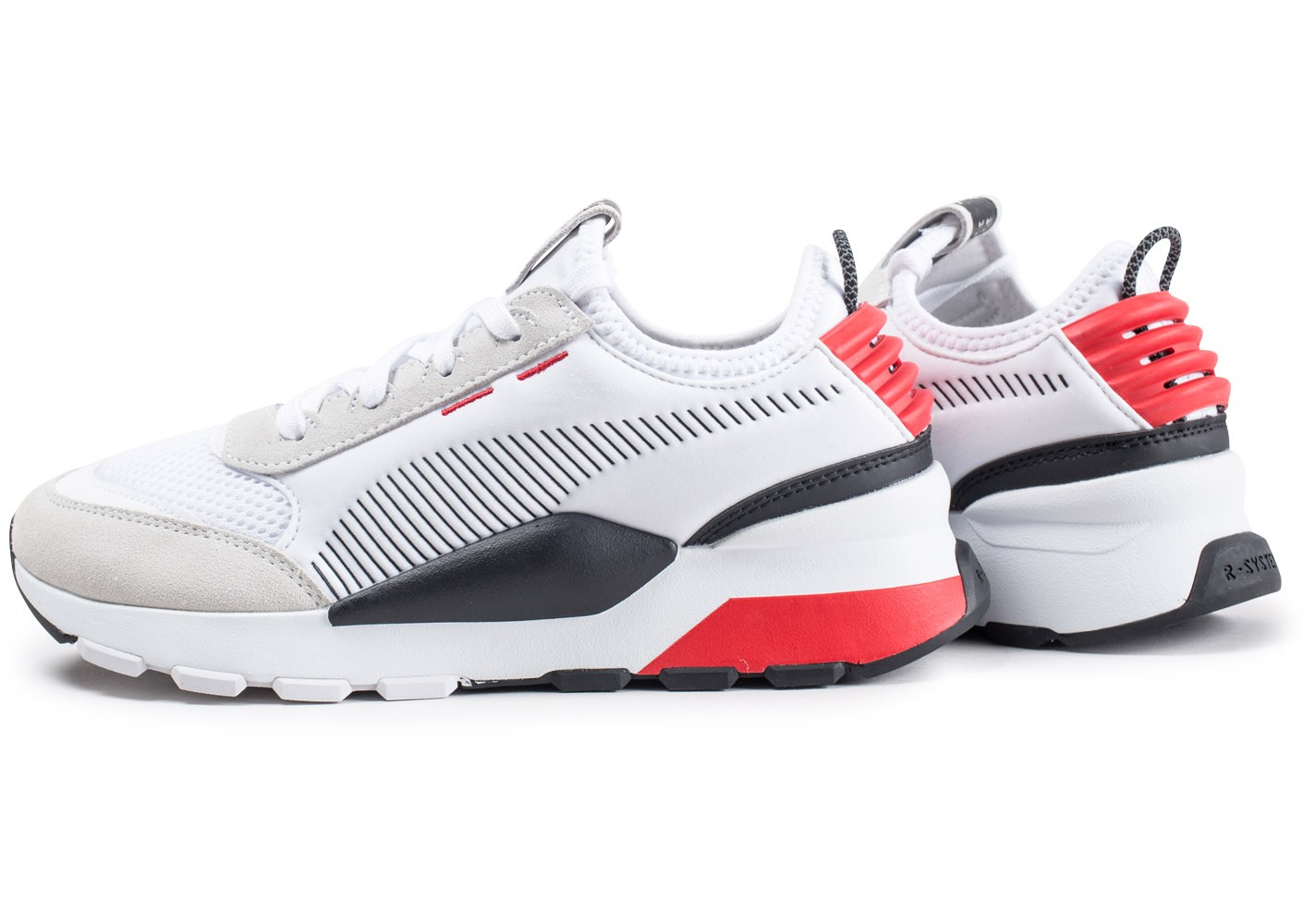 puma rs homme blanche