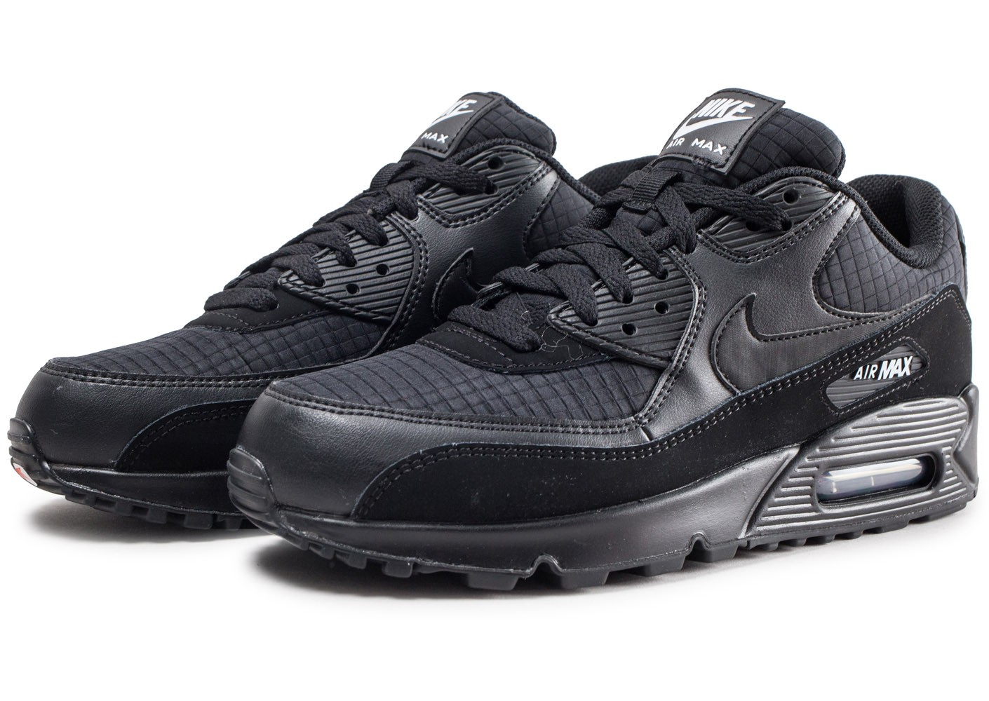 competitive price 966f5 865be Nike Air Max 90 Essential noire - Chaussures Baskets homme - Chausport
