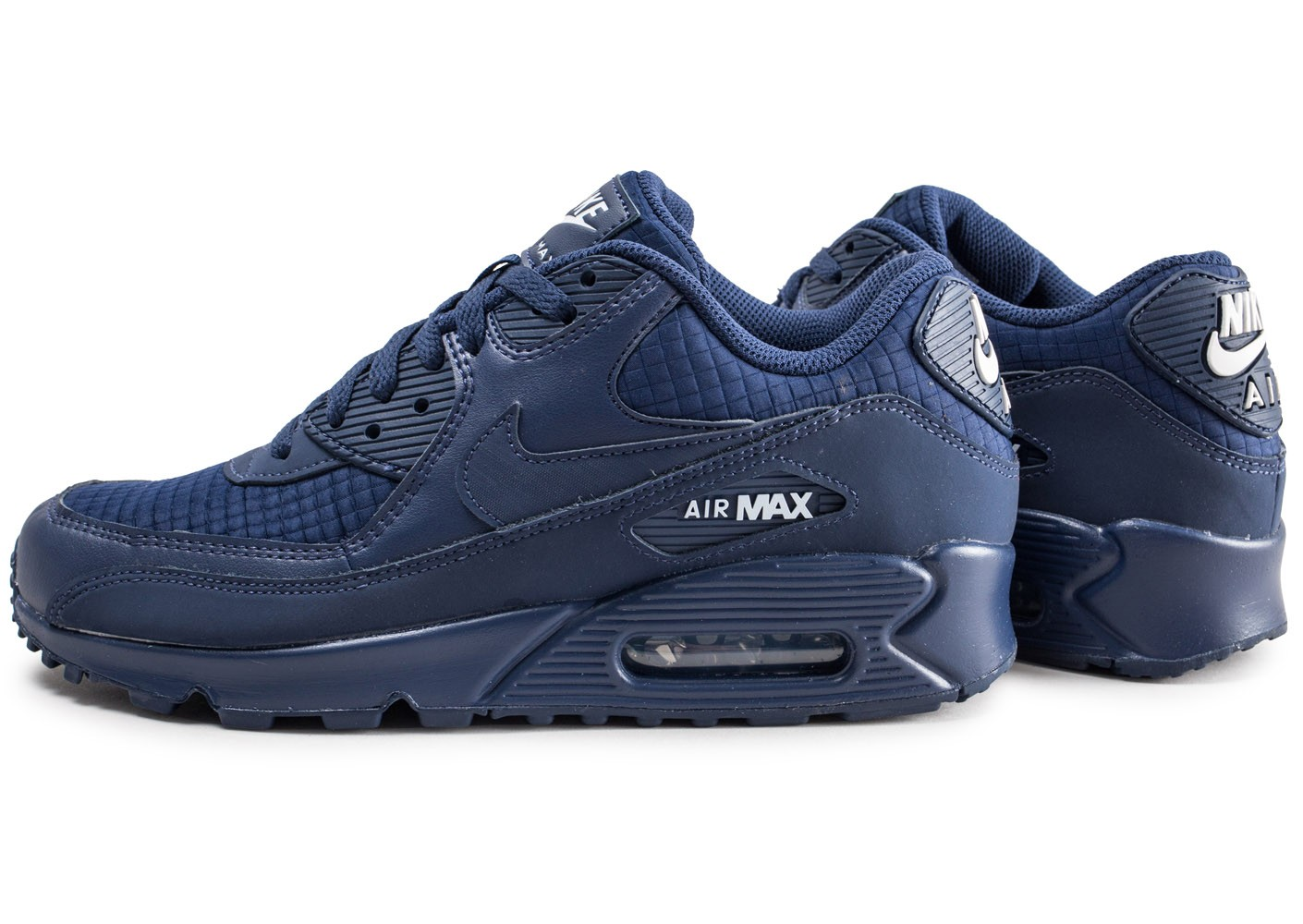 best supplier classic styles another chance Nike Air Max 90 Essential bleu marine - Chaussures Baskets homme ...