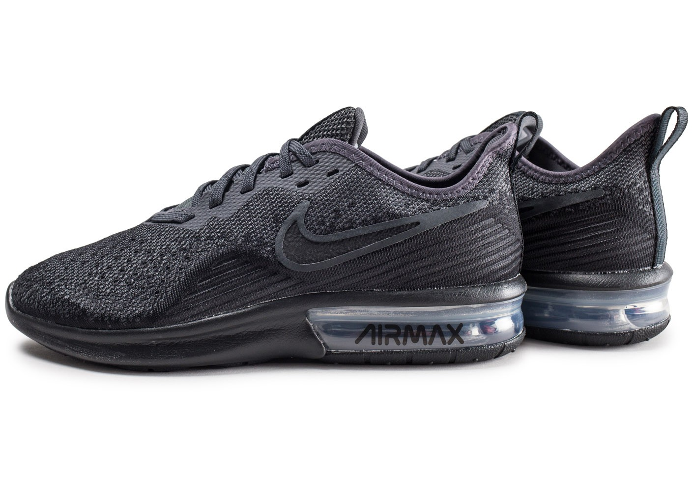 Nike Air Max Sequent 4 noir anthracite Chaussures Baskets