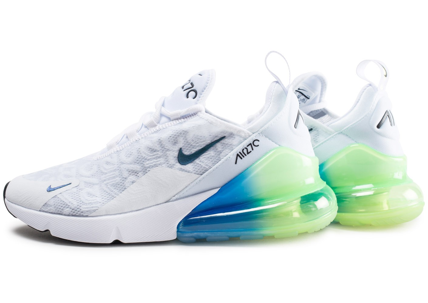nike air max 270 homme blanche et rouge