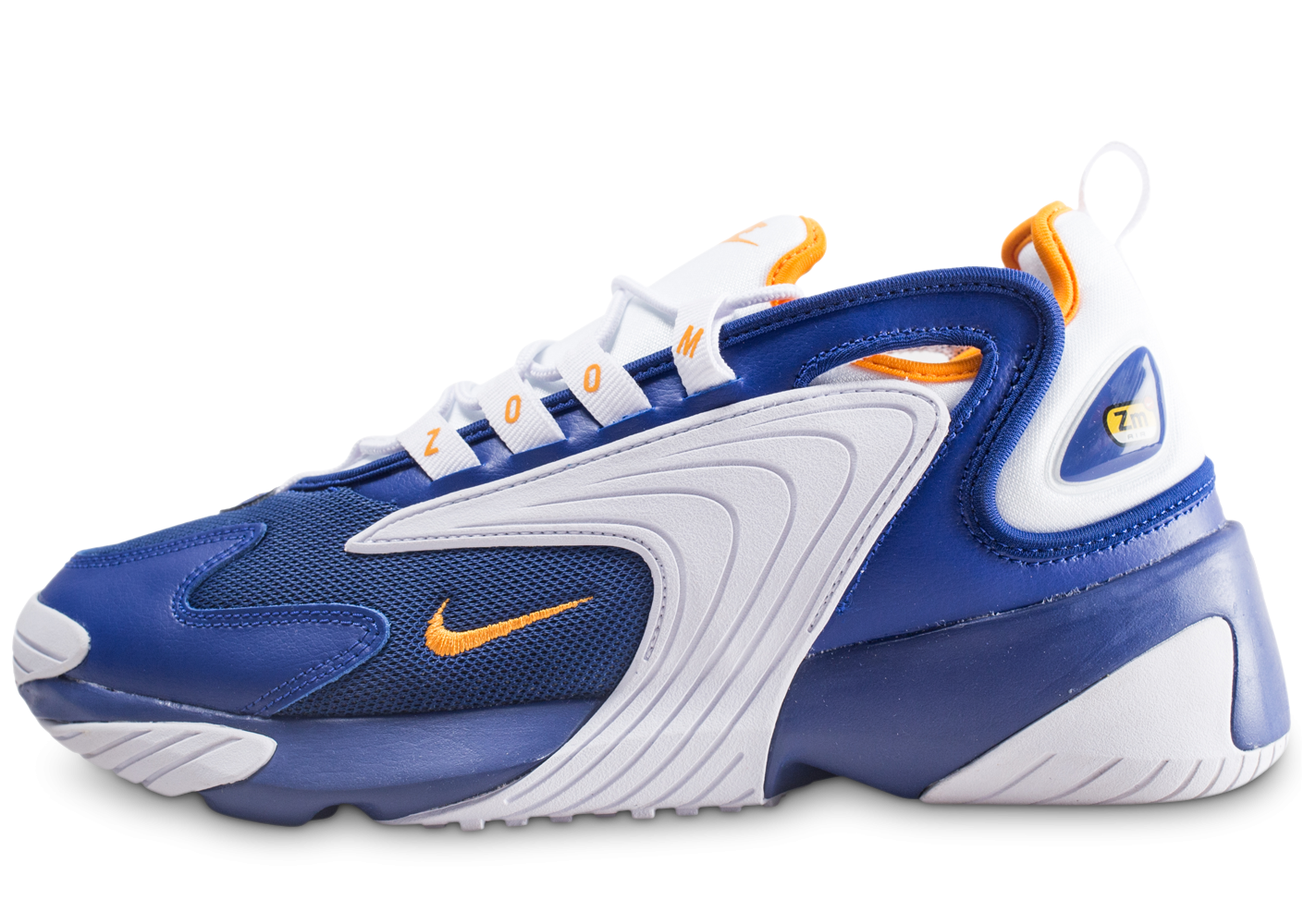 Nike Zoom 2K bleu et orange