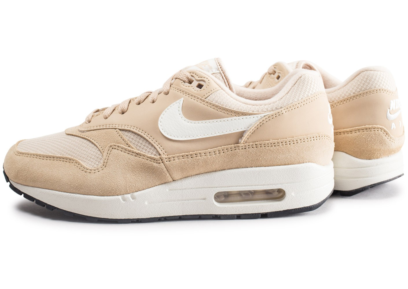 Baskets Chausport Nike Homme 1 Air Max Chaussures Beige fv6Y7gby