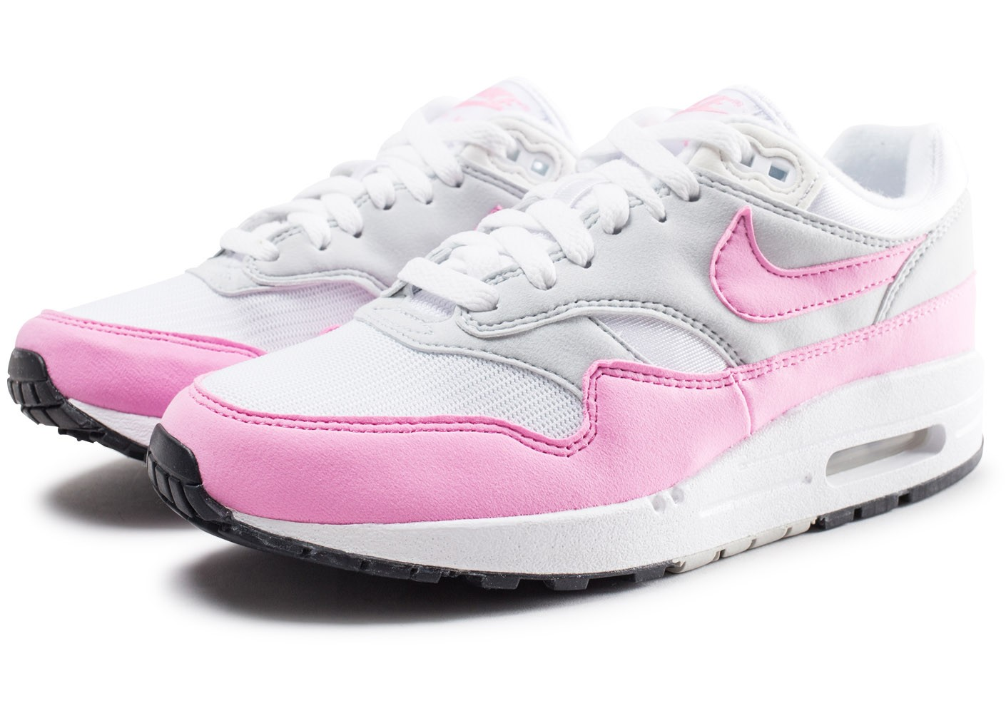 professional sale 50% price great prices Nike Air Max Essential 1 blanche et rose femme - Chaussures ...