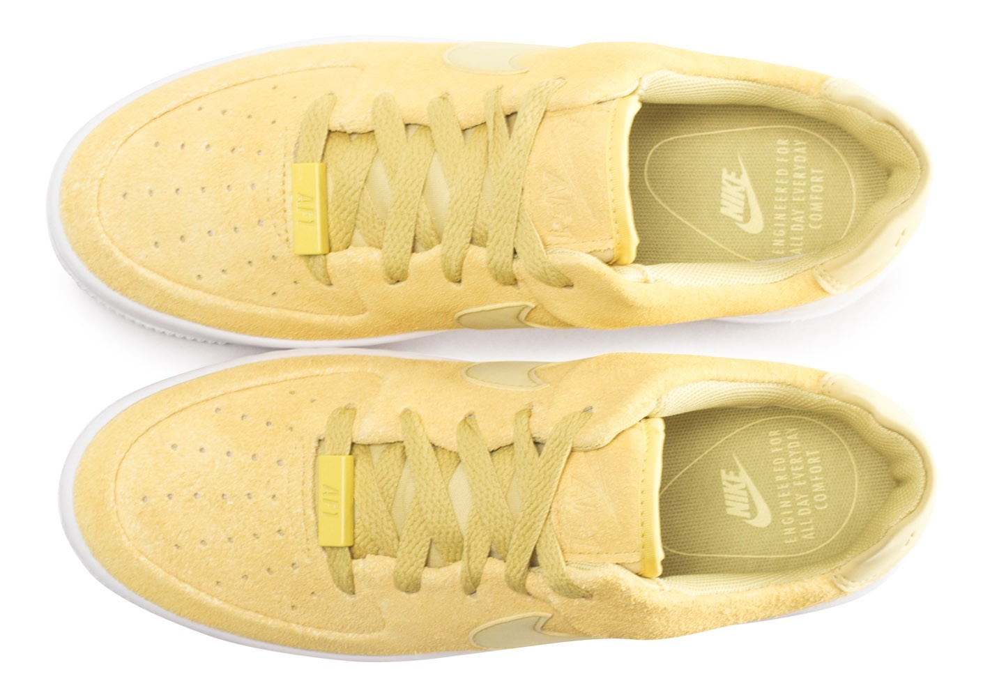 air force 1 sage low jaune femme