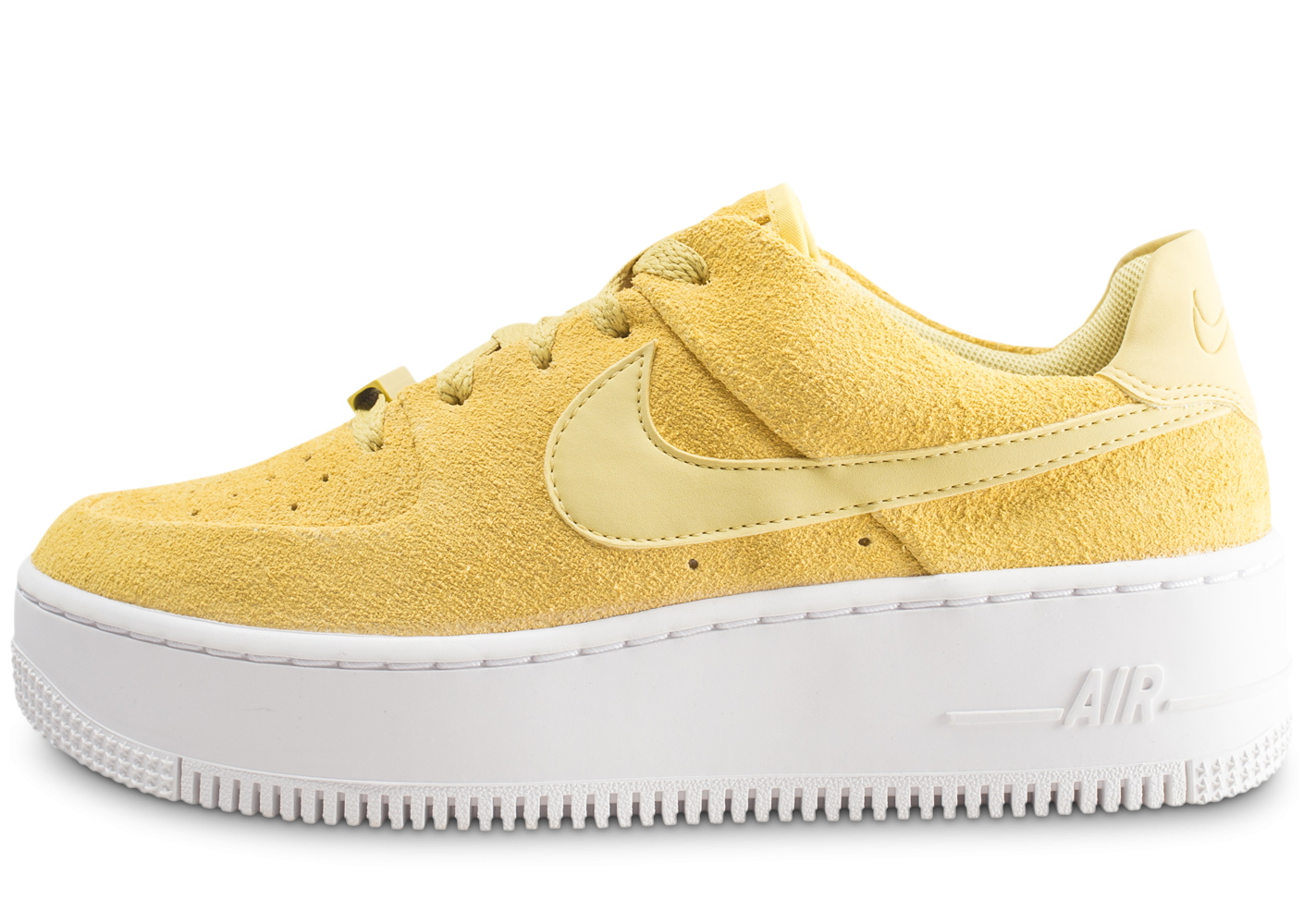Nike Air Force 1 Sage Low jaune femme
