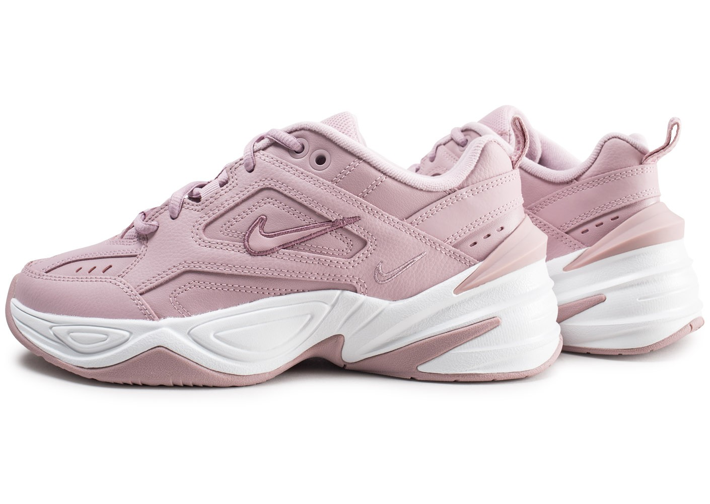 Nike M2K Tekno rose femme - Chaussures Baskets femme - Chausport