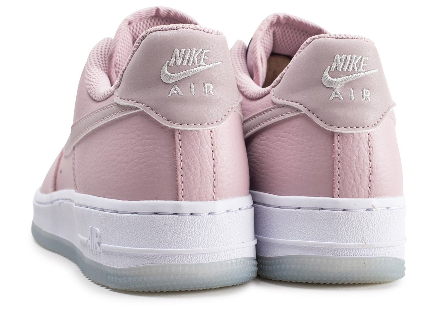 Nike Air Force 1 '07 Essential rose et blanche femme ...
