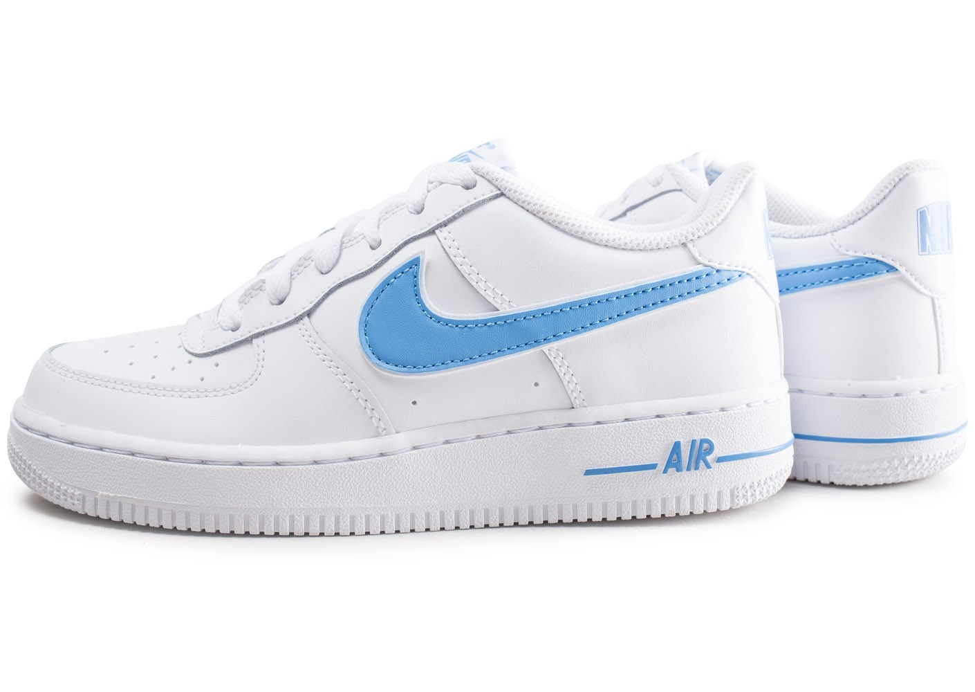 nike air force 1 semelle bleu
