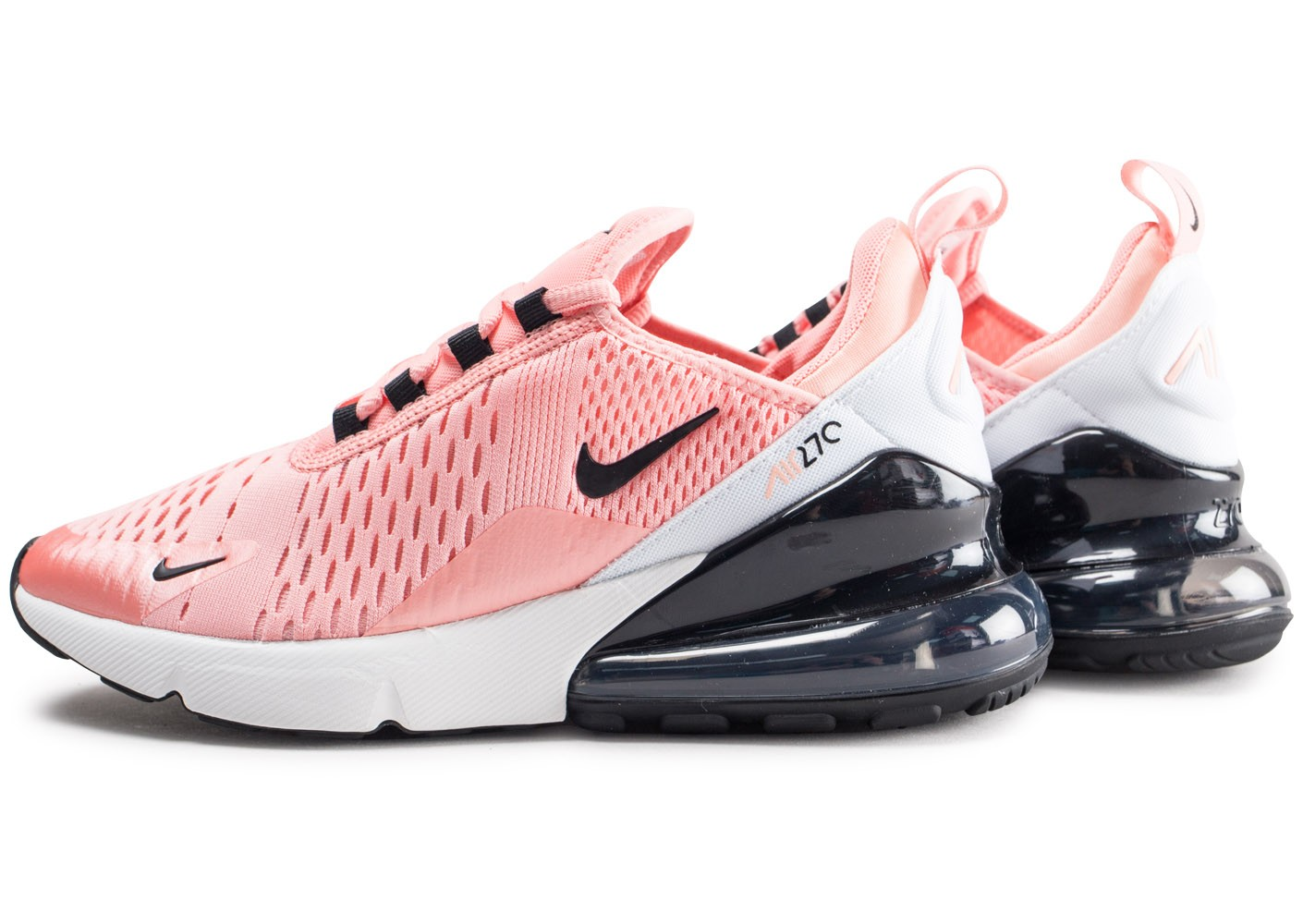 Nike Air Max 270 rose junior - Chaussures Enfant - Chausport